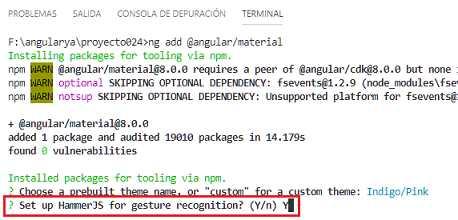 Angular Material: formularios - mat-slider